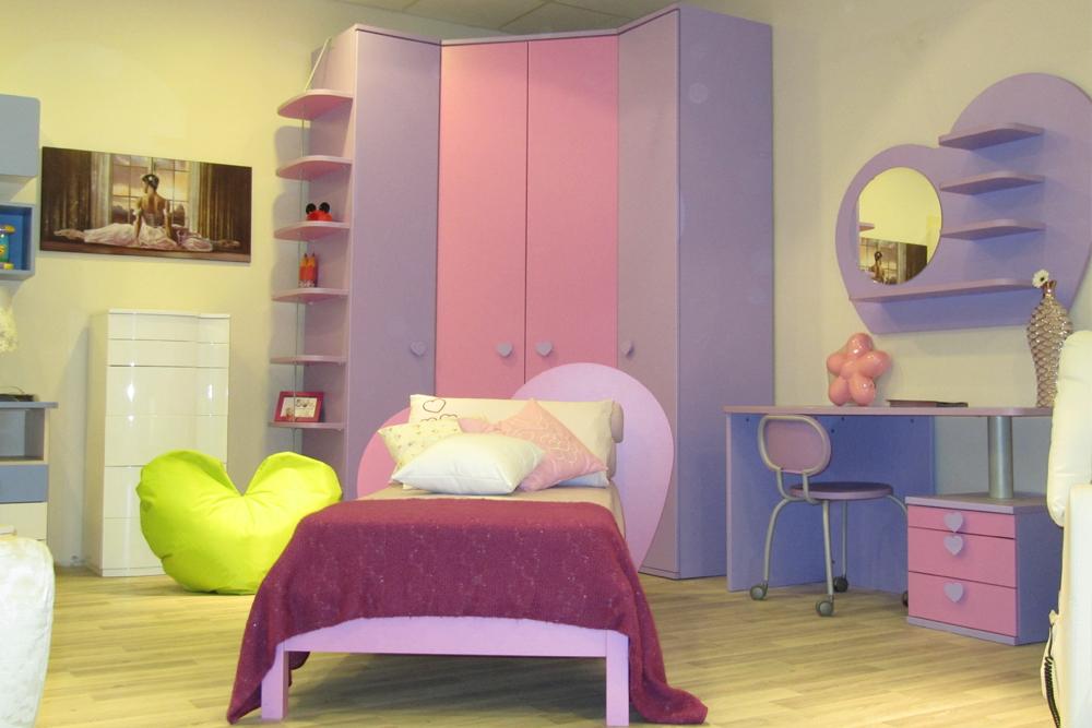 Camerette Colombini Misure.Camera Colombini Cuore Interior Design Napoli Progetto