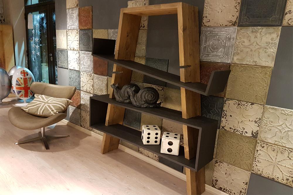 Libreria Dialma Brown - Interior Design Napoli - Progetto Casa ID